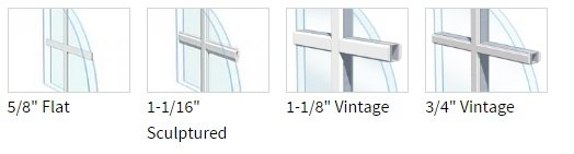 Different Window Grids