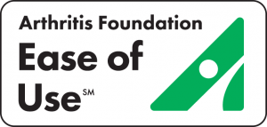 Ease of Use Seal from Arthritis Foundation