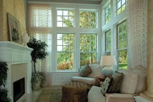 Elegant Living Room by Cougar Windows & Doors