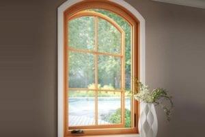 Essence Series Radius Casement Window
