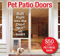 Pet Patio Door