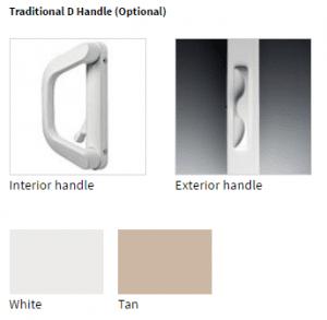 Traditional Window Handle
