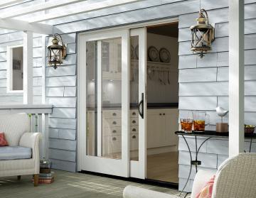 White Essence Series Sliding Door