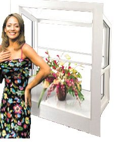 Woman Standing beside a Beautiful Window